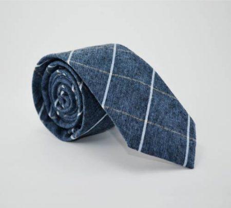 Kravata Skini kros modra