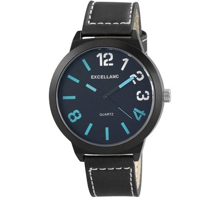 Moška ura Number v modri barvi