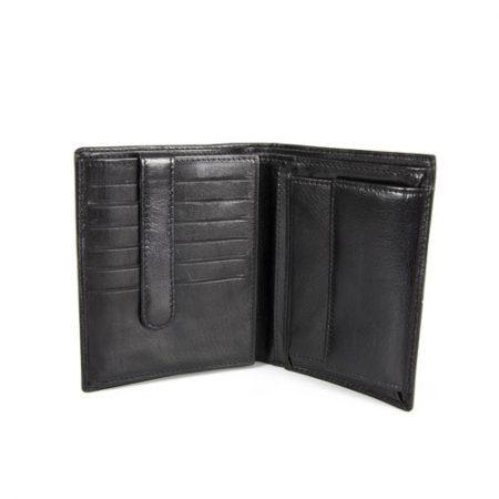 Moška denarnica 3544 črna drobižnica