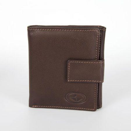 Usnjena moška denarnica 3517-rjava