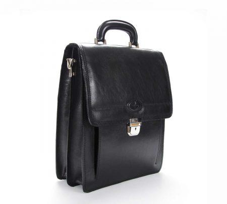 Črna elegantna moška torba 4120