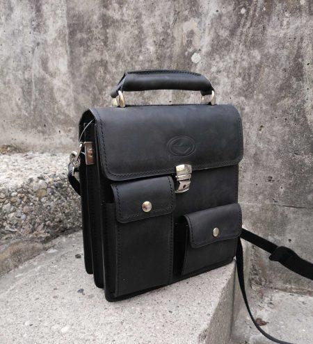 Črna moška torba 4101- prva