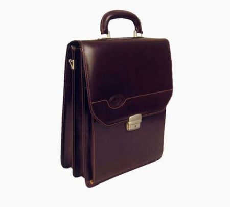 Elegantna pokončna usnjena torba 4115