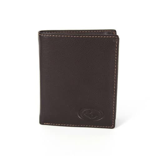 Rivero visoka denarnica- rjava