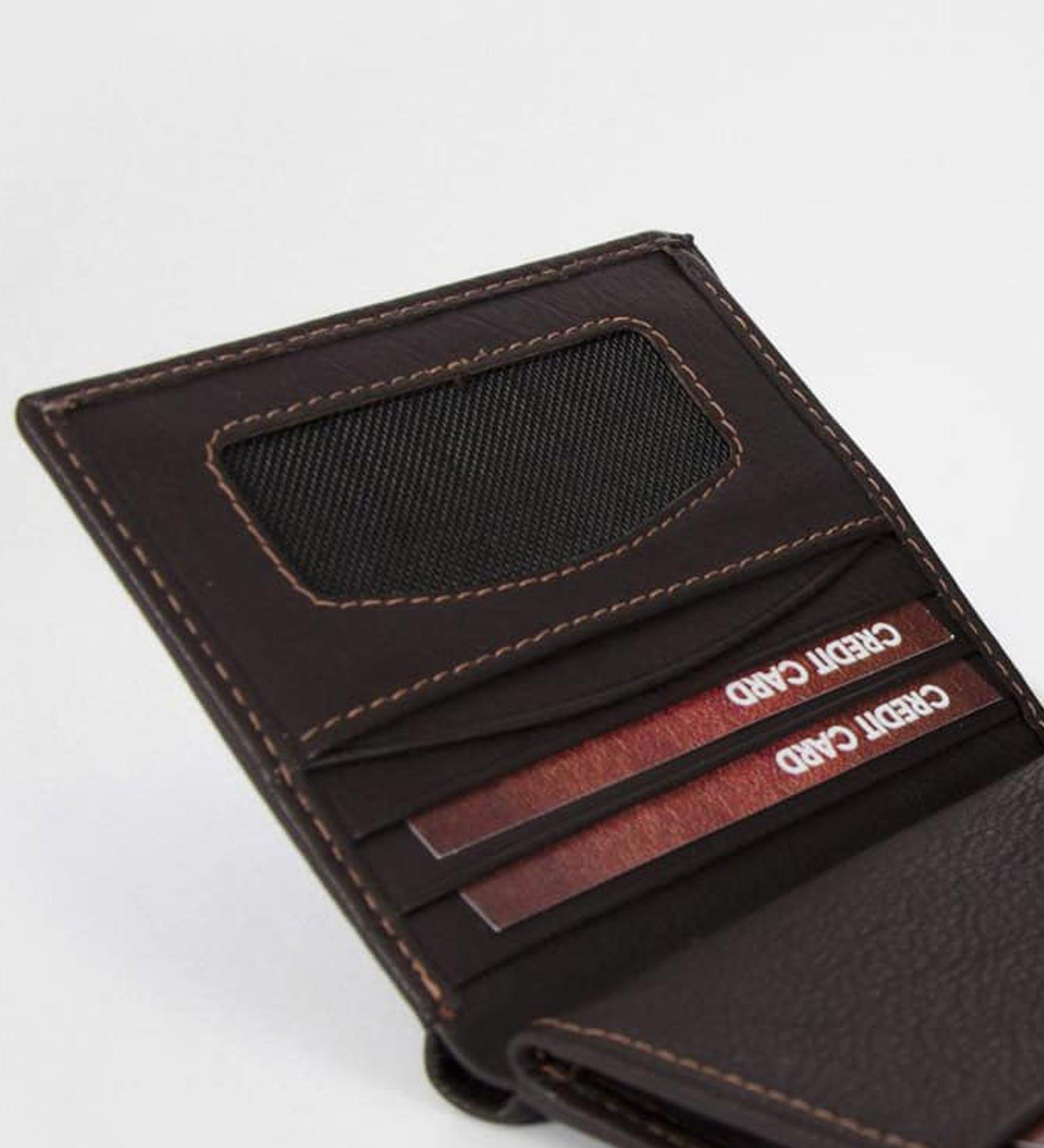 Visoka denarnica Rivero- prostor za kartice