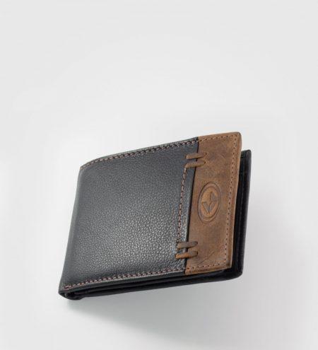 Usnjena moška denarnica Odin