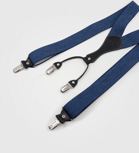 Modne naramnice za hlače Ranger Havana-modre