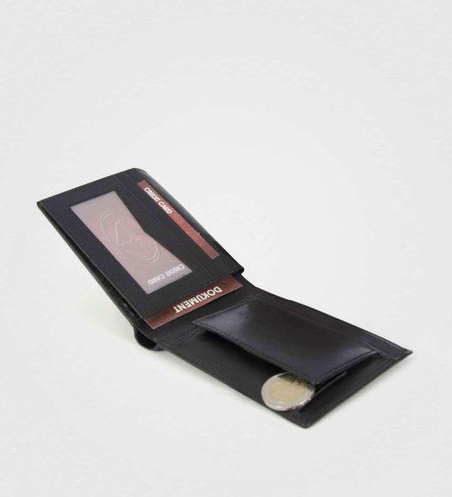 Velika usnjena denarnica Hamilton-prva