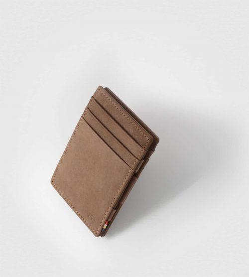 Essenziale Garzini magic denarnica- rjava