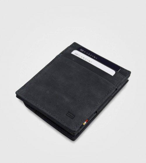 Garzini Essenziale Vintage z drobižnico-črna