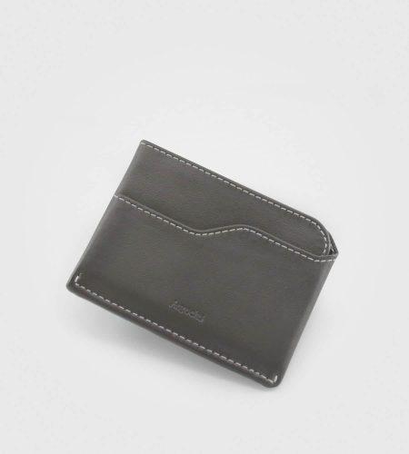Mini denarnica za kartice Nano- siva