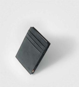 Tanka moška denarnica Garzini Essenziale Vintage-črna