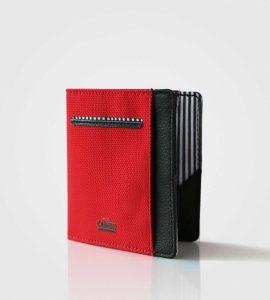 Tanka tekstilna denarnica Wolyt Flip