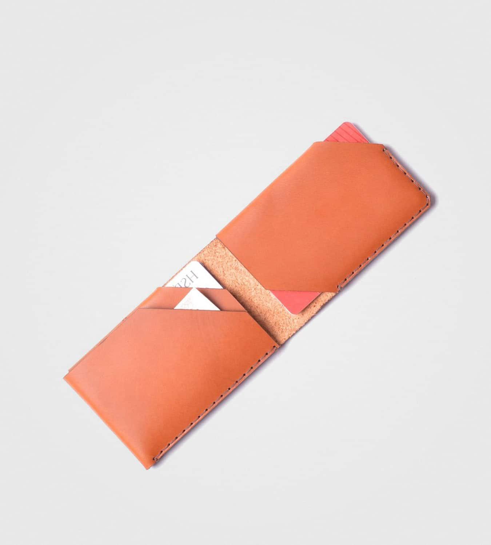 Unikatna denarnica Natural-barve wisky