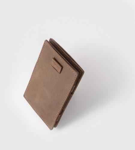 Vintage denarnica za kartice Cavare- rjava