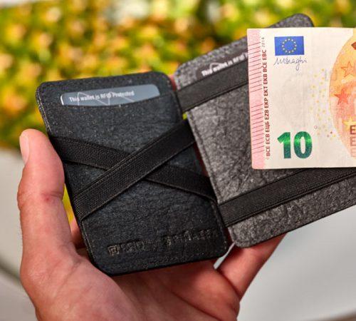 Pinex denarnica- v roki